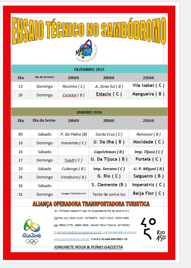 ENSAIOTÉC NO SAMBÓDRO 2015 - 2016